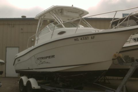 2004 Striper 21 Walkaround Image